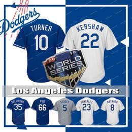 b9473d6f9 Los Angeles Dodgers Mens 22 Clayton Kershaw 35 Cody Bellinger Baseball  Jersey 8 Manny Machado 10 Justin Turner 23 Adrian Gonzalez QF016PY