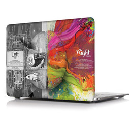 Wholesale Apple Macbook Pro 13 Case - Brain-4 Oil painting Case for Apple Macbook Air 11 13 Pro Retina 12 13 15 inch Touch Bar 13 15 Laptop Cover Shell