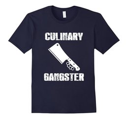 Wholesale Cook T Shirts - Culinary Gangster Cooking Quality Chef T-Shirt