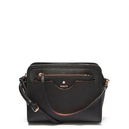 Canada MIMCO Fashion Women Phénomène sac à bandoulière noir Rose Gold avec petite pochette dans la poche avant Offre