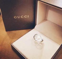 19ss Италия роскошный дизайнер обручальные кольца серебряный цвет обруч кольцо невесты женский Рождественский подарок нет коробки от Поставщики рождественские подарки италия