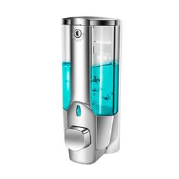 2019 chumbo líquido Original 350 Ml Soap Shampoo Dispenser Wall Mount Shower Bath Soap Dispenser Com Um Bloqueio Para Banheiro Banheiro