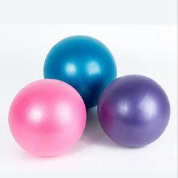 Wholesale purple yoga balls - High quality design fashion comfortable thickening anti explosion grind massage fitness mini portable inflatable yoga ball