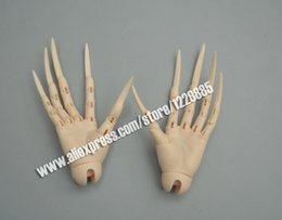 Wholesale zombie dolls - bjd sd extra long nais hands jointed hands fantasy devil zombie vampire bjd dolls free shipping fit SID body