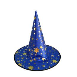 Хэллоуин шляпа ведьмы шляпа фантазии платье партии парик партии парик шапки Хэллоуин ведьмы костюмы для взрослых размер vampries классические парики от