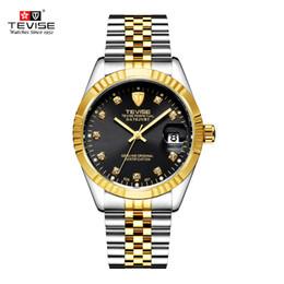2019 relógios de pulso sports weide TEVISE Marca Relógio Das Mulheres Dos Homens Semi automático Relógios Moda Luxo Relógio Mecânico À Prova D 'Água Luminosa Esporte Casual Relógio De Pulso S923 desconto relógios de pulso sports weide