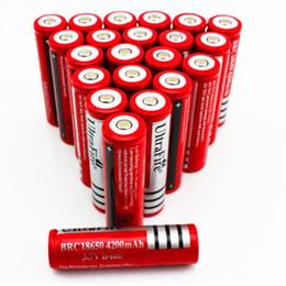 2020 batteria ricaricabile ultrafire della torcia elettrica UltraFire 18650 batteria ricaricabile agli ioni di litio da 3,7 V ad alta capacità da 4200 mAh per caricabatterie per batterie al litio con fotocamera digitale a torcia a LED sconti batteria ricaricabile ultrafire della torcia elettrica
