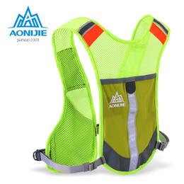3a58e98dd90b AONIJIE E884 Reflective Hydration Pack Backpack Rucksack Bag Vest Harness  Water Bottle Hiking Camping Running Marathon Race
