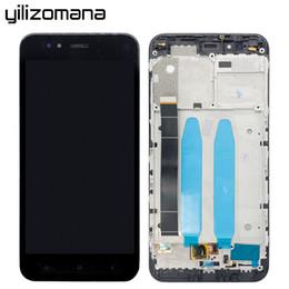 2019 asus frame Pannello touch screen originale YILIZOMANA con cornice per Xiaomi Mi5X MiA1 Mi 5X / A1 sostituzione display LCD Assembly + strumenti gratuiti