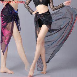 frühling karneval kleider Rabatt Sexy Garn-Hüftrock-Mädchen-Bauchtanz-Rock-Kleidung