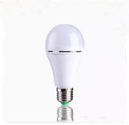 cambio de color de escenario bombilla led Rebajas Nueva lámpara LED de iluminación de emergencia E27 9W 12W Bombilla Manual / Control automático 3 ~ 5 horas Portátil de trabajo AC85-265V LLFA