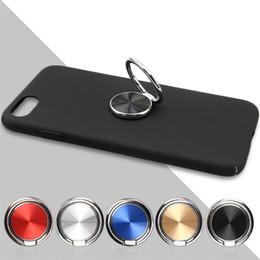 Wholesale Cellphone Tablets - Universal Ring Holder Stand 360 Degree Magnetic Finger Ring Holder For iPhoneX Samsung Mobile Cellphone phone Tablet