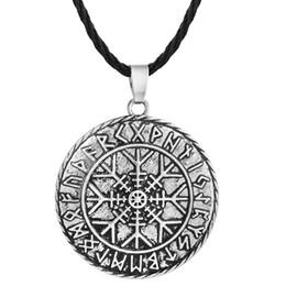 Shop antique compass pendant uk antique compass pendant free 5pcs lot antique odins symbol of norse runic pendant men necklace viking runes vegvisir compass pendants necklaces jewelry aloadofball Images