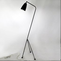 Wholesale Black Metal Lamp Shade - Modern floor lamp black metal lamp shades adjusted angle AC 110V - 220V for dining room living room bedroom flower