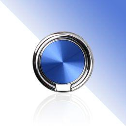 Stand promozionali online-Supporto del telefono della fibbia del metallo di personalità per il supporto di iPhone MP4 del desktop di Samsung Supporto rotondo del veicolo con la borsa al minuto Regali promozionali