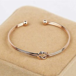 Wholesale knot bracelets wholesale - Wholesale- The new campus is pure and fresh girl deserve to act the role of fashion simple pure color bracelets Chinese knot bracelet