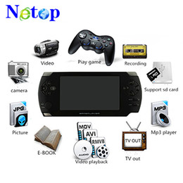 Pmp spiel mp4 spieler online-Netop 8 GB 4,3 Zoll Touchscreen PMP Handheld-Spiel Player S431 MP4 MP5 Player Video FM Kamera Portable Spielkonsole