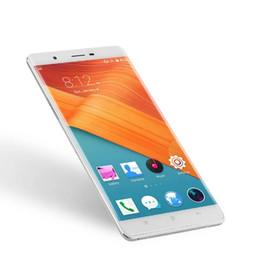 quad core metal Promotion 6 Pouces Grand Écran Tactile Super Mince Android Téléphone Cellulaire Ulim R8S CNC Métal Cadre Quad Core Android 5.1 OS Pas Cher Smartphone Avec Étui gratuit