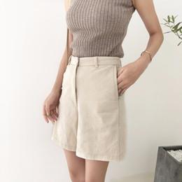 9ba5a3f13 Distribuidores de descuento Pantalones Cortos Mujeres Coreanas ...