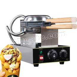 Wholesale electric ovens - CE Certification 220V 110V Commercial electric Chinese Hong Kong eggettes puff egg waffle iron maker machine bubble egg cake oven