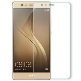 huawei 4c honor Rebajas Vidrio templado para Huawei P8 P9 Lite 2017 Protector de pantalla para Huawei P9 P10 Lite Honor 4C Pro 6X 6A Y3 II Y5 II Y6 2017 Casos