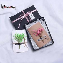 Argentina 2018 nuevo producto tarjeta de saludos papel romántico festival de moda regalo de cumpleaños novela flor hermosa creativa cajas exquisitas Suministro