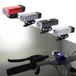 wholesale road warning light 2018 - 5W Road Bicycle Front Light High Power Waterproof USB Rechargeable Bike Light Safety Warning LED Handlebar Cycling Bycicle