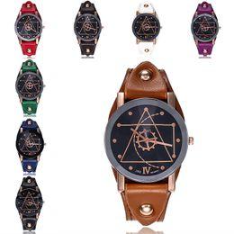 2019 relógios de pulso de padrão Reloj marca relógios de pulso dos homens relógio de luxo padrão de engrenagem militar relógios de pulso de couro retro relógio de quartzo horas relogio masculino desconto relógios de pulso de padrão