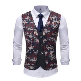 tarnkleid anzüge Rabatt 2018 neue Außenhandel Männer gefälschte zwei casual Herren Camouflage casual Anzug Weste Kleid Hochzeit Weste Gezeiten