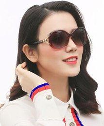7c28106631 Moda coreana gafas de sol señoras marea conducir gafas de sol cara redonda  cara larga personalidad elegante protección UV gafas