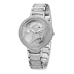 Wholesale Stainless Steel Horse Jewelry - BELBI Horse Dial Ladies Wrist Watch Newest Desiger Genuine Luxury Brand Diamond Women Watches Fashion Alloy Quartz Gold Silver Wristwatches