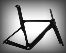 Wholesale Carbon Road Bike Frame 48 - New design Light weight road bike frame t800 carbon road frame sizes:48 51 54 56 58 carbon road frame