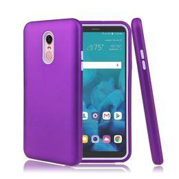 estojos de telefone para lg stylo Desconto Acabamento mate 3 em 1 casos de telefone defensor híbrido para iphone xr xs max lg stylo 4 samsung nota 9 j3 j7