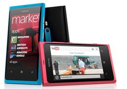 celulares lumia Rebajas Teléfonos celulares Nokia Lumia 800 desbloqueados originales de 3.7 pulgadas Rom 16GB 8MP 3G WCDMA
