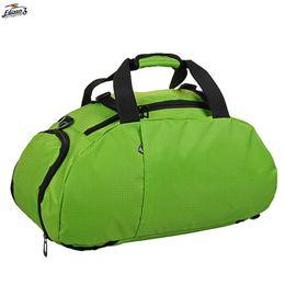 Multi-use Portable Sports Gym Backpack Shoulder Bag Separated Shoes Storage  Travel Backpack Men And Women Outdoor Fitness Bag 6110b1ea3bddb