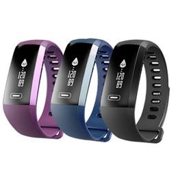 Pulso deporte online-M2 Pro Pulsera Inteligente Rastreador de Fitness Pulseras Presión Arterial Ritmo Cardíaco Reloj Medidor de Pulso Oxígeno Impermeable SMS Llamada Sport Band Paquete