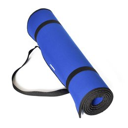 Коврики для кемпинга онлайн-RANKA Non-slip Yoga Mats For Fitness  Pilates Pads Sport Mats Outdoor Camping Pads Picnic with Yoga Bag Strap