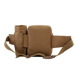 Wholesale Martial Arts Material - Unisex Travel Water Bottle Waist Bag Casual Adjustable Nylon Material Military Kettle Outdoor Waist Bag EEA23