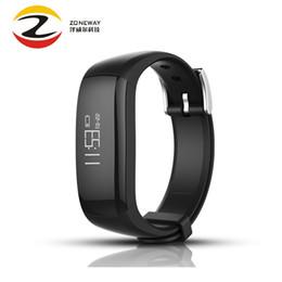 embouts Promotion 2018 P6 intelligente Band message Call Rappel Podomètre Suivre Podomètre Calories Bracelet pour Andriod Wristband Pk Fit bits