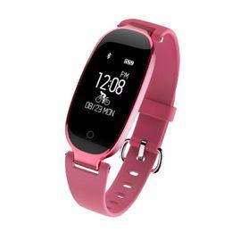 qualität s3 telefon Rabatt S3 Smart Watch Mode Sport Bluetooth Smart Armband Telefon Smart Clock Pulsmesser Smartwatch Für Frauen Mädchen Hohe Qualität