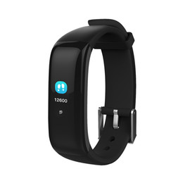 Wholesale calories heart rate - Waterproof Smart Pedometer Bracelet Sport Wrist Watch Calories Counter Heart Rate Test Bluetooth Pedometers Band