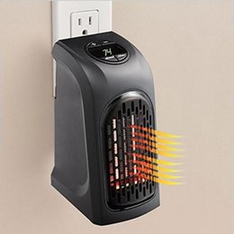 Wholesale Portable Electric Radiators - Mini Portable Electric Handy Plug-In Heater Hand Warmer Wall Heater Hotel Kitchen Bar Bathroom EU US Plug Electric Radiator