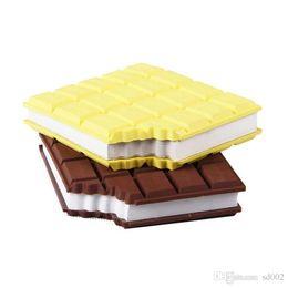 Canada Mini Silicone Bloc-Notes Nouveauté Nouveau Design Chocolat Style Cahier Multicolore Pour Les Articles De Papeterie Étudiant Nouvelle Arrivée 4 2wf ZZ Offre