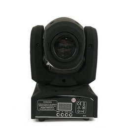 Wholesale Moving Head Usa - LED 8colors 10W 30W spots Light DMX Stage Spot Moving 8   11 Channels Mini LED Moving Head follow lighting for DJ Effect lights Dance Disco