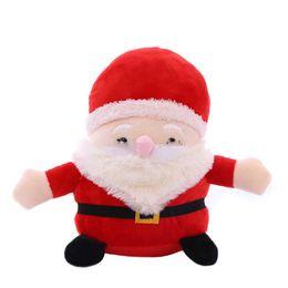 Juguetes de cosas de santa claus online-Peluches de Navidad de Santa Claus, juguetes de peluche de Navidad, 20 cm para regalo de Navidad para niños