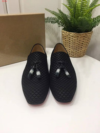 Wholesale Luxury Prom Dresses Sale - Hot Sale Luxury Genuine Leather Male Prom Wedding Party Scales Style Shoes Dress Shoes Size 38-46