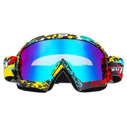 Occhiali da snowboard online-2018 Colourful Outdoor Unisex Adulti Occhiali sferici antinebbia bicolore Occhiali da sci Occhiali da sci Occhiali da jogging di alta qualità j3