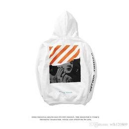 Wholesale Trendy Long Sweaters - Monroe diagonal back in the long section of white sweater men and women hooded autumn trendy student shirt
