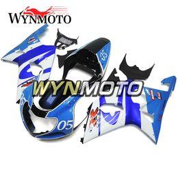 2019 kit de carénage gold yzf r1 Kit Autocycle Bleu Body Pour Suzuki GSXR1000 Année 2000 2001 2002 Plein Capots ABS Injection Carrosserie 00 01 02