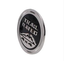 Jipe emblema on-line-Trail avaliado 4x4 Tronco bagageira Fender emblema do emblema LOGO para Jeep Wrangler 2007-2017